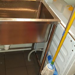 Install-washing-machine-outlet-hose-to-drainage-pipe-plumber-singapore-3