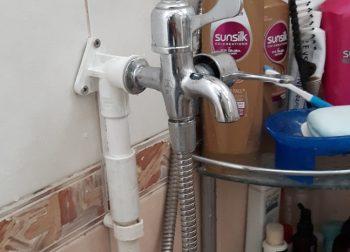 Repair UPVC Water Inlet Pipe Plumber Singapore