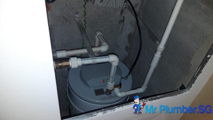 Replace Joven Storage Water Heater Plumber Singapore Minbu Road