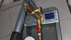 Water Pressure Test for Concealed Pipe Leak in Toilet Plumber Singapore