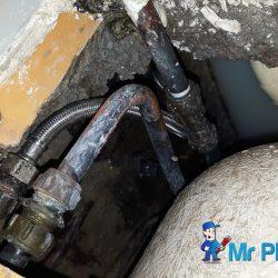 bathtub-leakage-replace-water-hose-plumber-singapore-condo-4