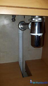 Change-kitchen-sink-bottle-trap-choke-plumber-singapore-HDB-Sembawang-1