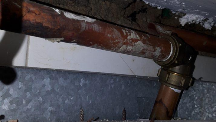 Copper Pipe Leak Repair Plumber Singapore HDB Kovan