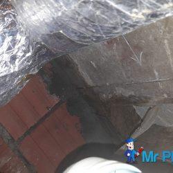 Repairing-exposed-concrete-in-floor-trap-plumber-singapore-Landed-Farrer-Park-3