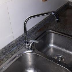 Replace Kitchen Sink Tap and Repair Seepage Silicon Plumber Singapore HDB Yishun