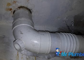 Replacing PVC Pipe Plumber Singapore Condo Choa Chu Kang