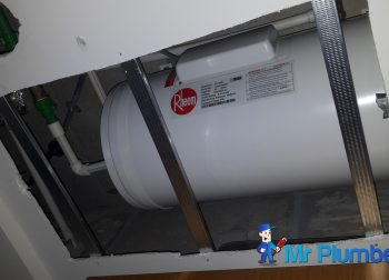 Replace Rheem Storage Water Heater False Ceiling Repair Plumber Singapore