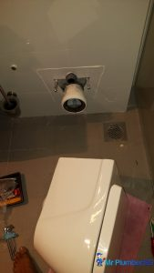 Toilet-bowl-drainage-pipe-repair-plumber-singapore-HDB-Dover-1