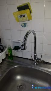 fix kitchen sink tap HDB plumber singapore clementi ave 4