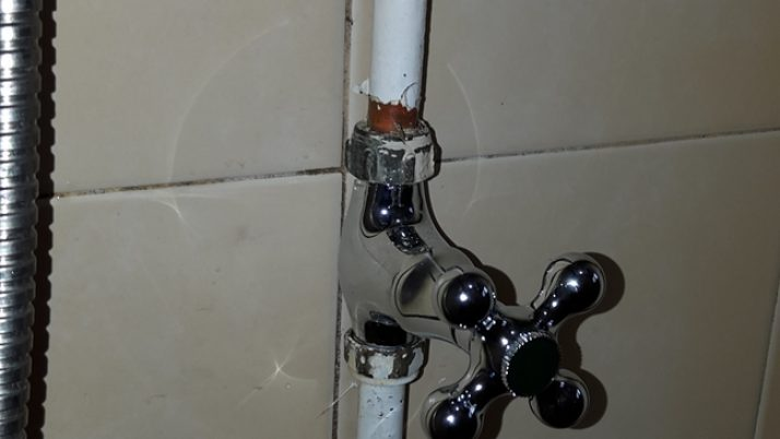 Fix Shower Tap / Shower Faucet HDB Plumber Singapore Clementi Ave 4