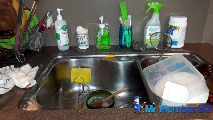 Repair Leaking Sink Pipe Plumber Singapore