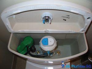 Dual flush tank_wm