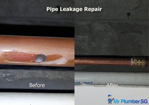 Water Pipe Leak Repair & Re-piping Services (Leaking or