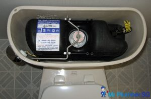 Pressure assisted toilet flush_wm