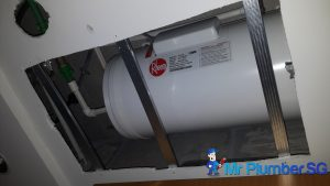 Replace-rheem-storage-water-heater-false-ceiling-repair-plumber-singapore-8
