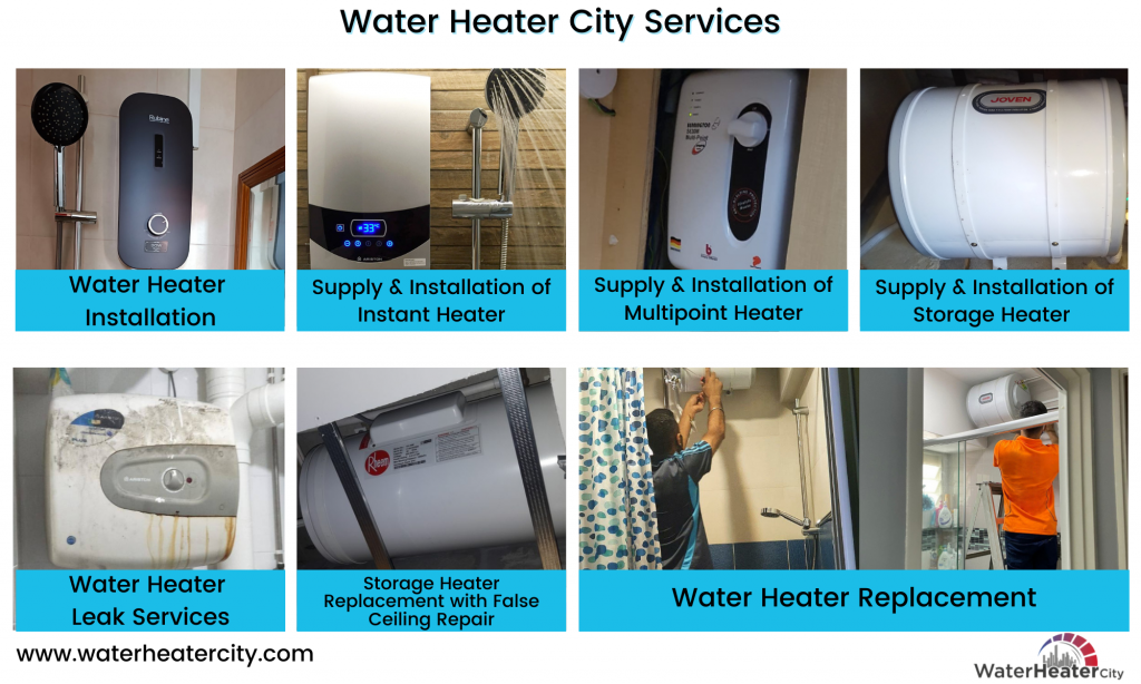 water-heater-city services-water-heater-mr-plumber-singapore