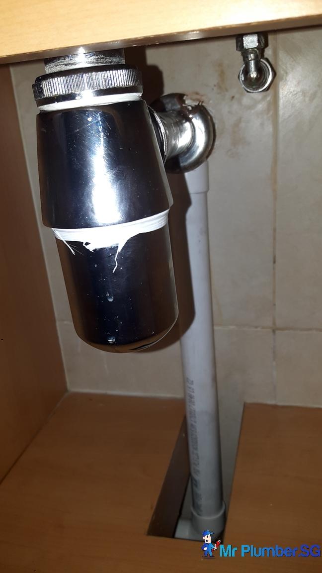 Condo Kitchen Sink Clogged