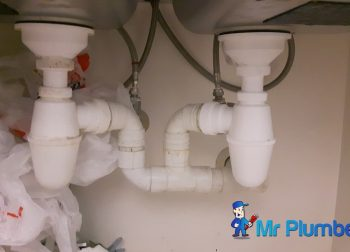 Clear Kitchen Sink Bottle Trap Choke Plumber Singapore Condo Marina Boulevard