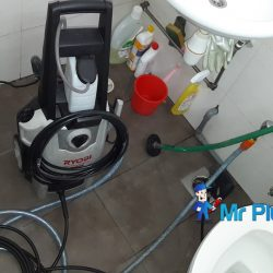 Clearing-of-floor-trap-choke-plumber-singapore-Commercial-Bartley-1