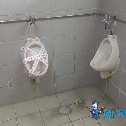 Installing-public-urinal-plumber-singapore-Commercial-Aljunied-1