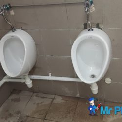 Installing-public-urinal-plumber-singapore-Commercial-Aljunied-5
