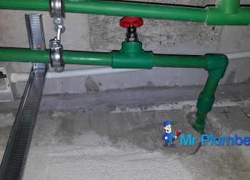 PPR Pipe Inspection & Replacement Plumber Singapore Condo Upper Paya Lebar