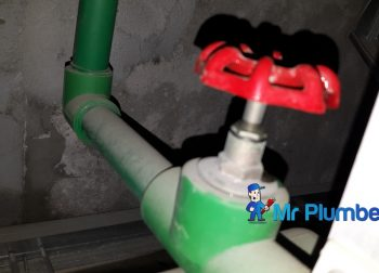 PPR and PVC Pipe Leakage Inspection Plumber Singapore Commercial City Hall