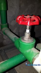 PPR-and-PVC-Pipe-leakage-Inspection-Plumber-Singapore-Commercial-City-Hall-2