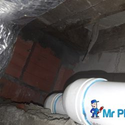 Repairing-exposed-concrete-in-floor-trap-plumber-singapore-Landed-Farrer-Park-1
