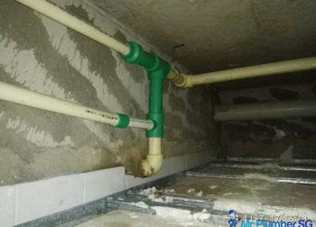 Install New PPR Piping Plumber Singapore Landed, Clementi