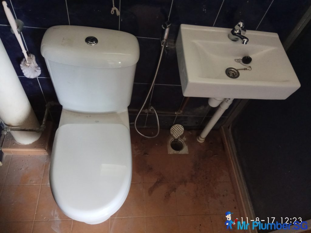 Replace New Toilet Bowl And Sink Plumber Singapore HDB, Tampines ...