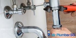 sink pipe emergency plumbing mr plumber singapore