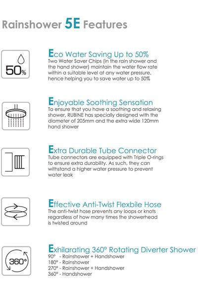 Rubine RWH-2388 Instant Water Heater