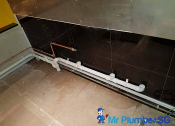 Pipe Installation in Singapore Commercial – Clarke Quay