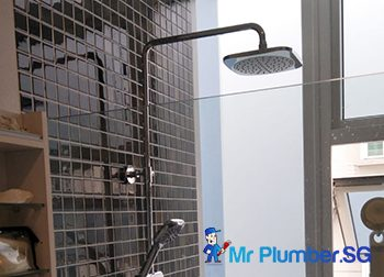 Rainshower Installation Plumber Singapore Condo – Kallang