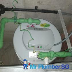 storage-heater-replacement-plumber-singapore-condo-alexandra