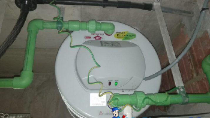 Storage Heater Replacement Plumber Singapore Condo – Alexandra
