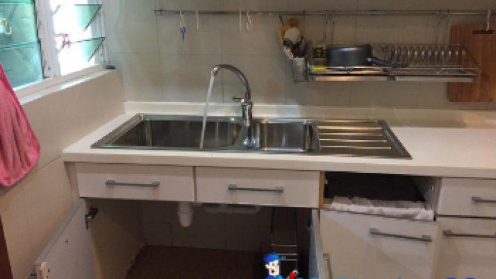 Kitchen Sink Replacement Plumber Singapore Condo– Marine Parade