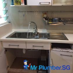 kitchen-sink-replacement-plumbing-installation-plumber-singapore-condo-marine-parade-3
