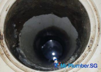 Floor Trap Choke Clearing Plumber Singapore HDB – Jurong East