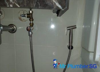 Bidet Spray Installation Plumber Singapore Condo – Bedok